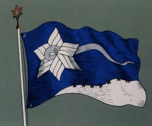 Branch Davidians Flag - via Wikipedia.