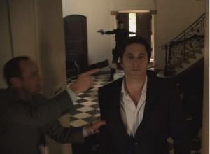 Masonic temple floor in episode 13.