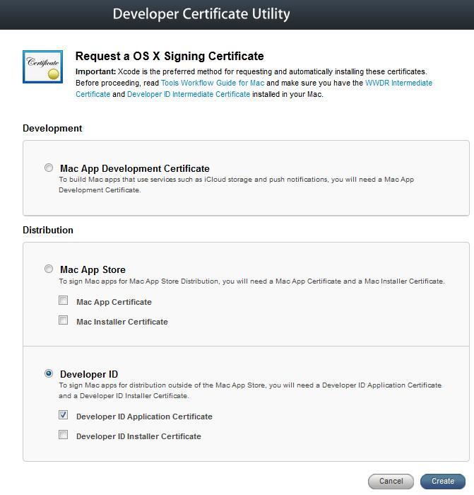 developer certificate utility trivisonno apple