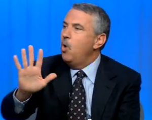 Thomas L. Friedman lying about immigration on The McLaughlin Group.